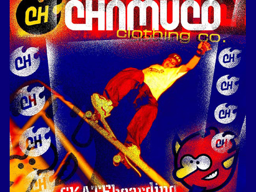 Poster promo illustration for Chamuco Co.