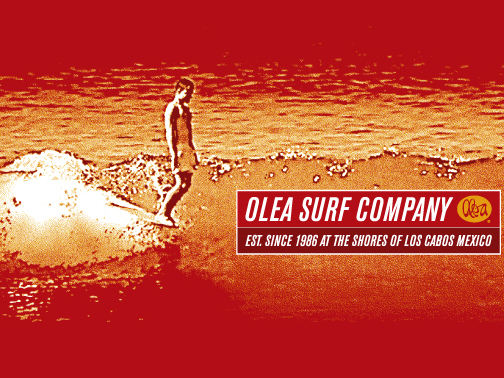 Illustration for Olea Surfboards Cabo