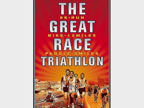 Illustration for The Great Race Triathlon