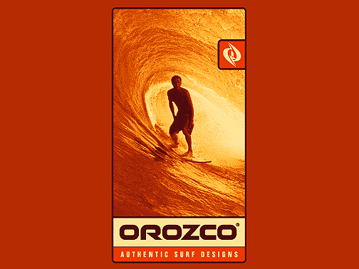 Illustration for Orozco Surfboards