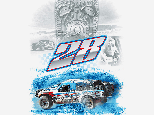 Cocept Illustration for Pflueger Racing