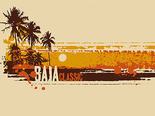 Illustration for Baja Classic Clothing Brand