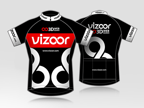 Logo & Cycling Jersey Design for vizoor.com